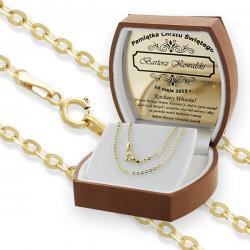 złota biżuteria na chrzest