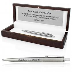 długopis parker z grawerem na prezent dla wychowawcy