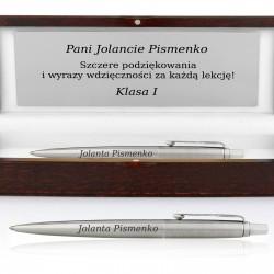 długopis grawerowany na podziękowanie dla nauczyciela