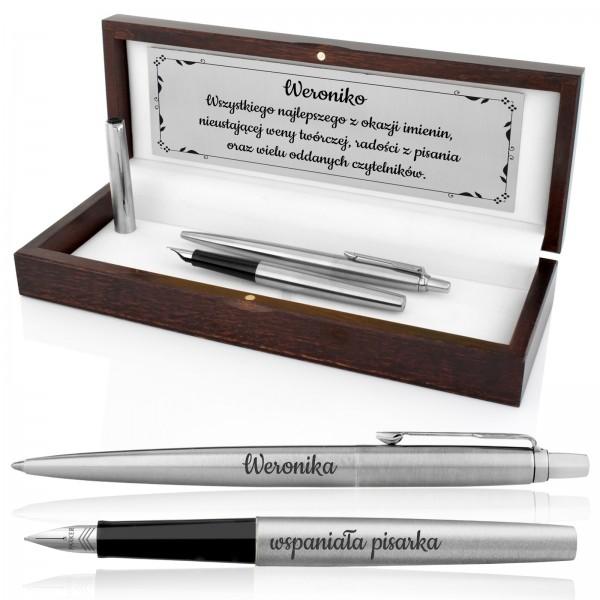 pióro i długopis z grawerem na prezent