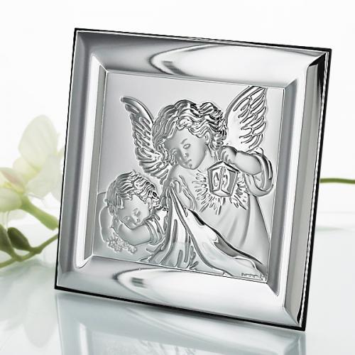 Obrazek Anioł Stróż - prezent na komunię z opcją graweru dedykacji