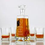 grawerowany komplet do whisky