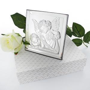 obrazek anioł stróż - prezent na chrzest