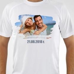 koszulka z nadrukiem zdjęcia na prezent