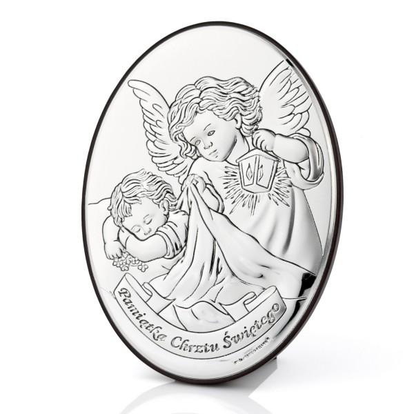 obrazek z Aniołem - pamiątka chrztu