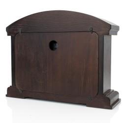 zegar kominkowy drewniany pomysł na prezent