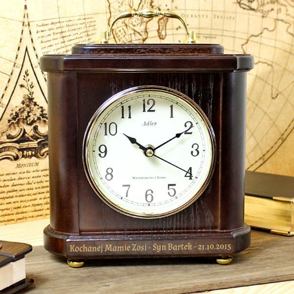 zegar kominkowy adler