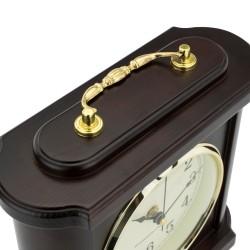 drewniany zegar kominowy na prezent dla niej
