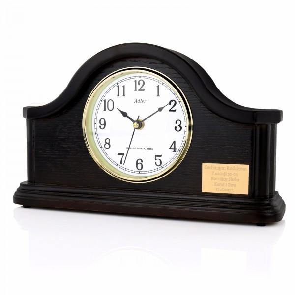 zegar z grawerem na prezent na rocznicę ślubu