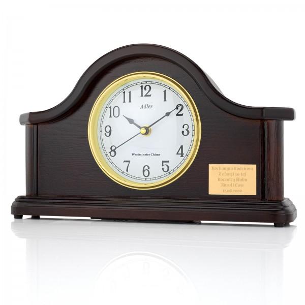 zegar kominkowy z grawerem na prezent