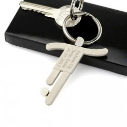 brelok do kluczy z grawerem