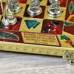 grawerowana dedykacja na szachach