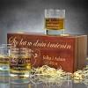 personalizowany zestaw do whisky
