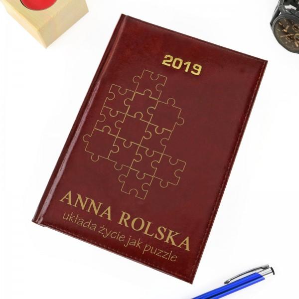 kalendarz na 2019 rok na prezent dla niej