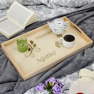 stolik śniadaniowy na prezent