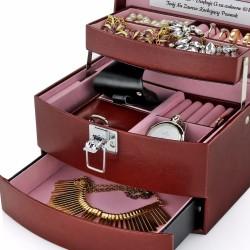 kuferek z eko-skóry na prezent dla żony