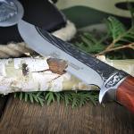 personalizowany nóż dla myśliwego