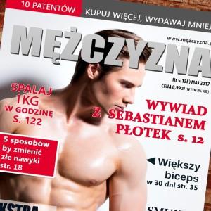 magazyn mężczyzna na prezent na urodziny