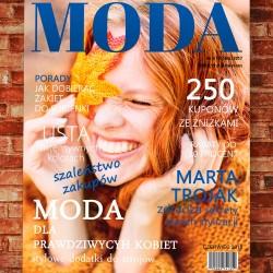 okładka magazynu ze zdjęciem na prezent