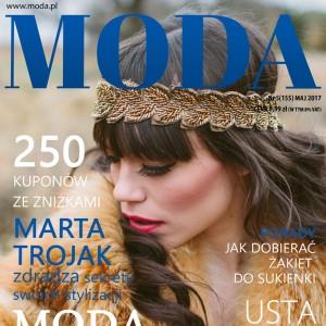 okładka magazynu dla kobiet ze zdjęciem na prezent