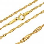 złoty medalik z łańcuszkiem pr. 585