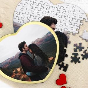 puzzle ze zdjęciem w puszce