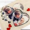 puzzle serce ze zdjęcia na prezent na dzień zakochanych