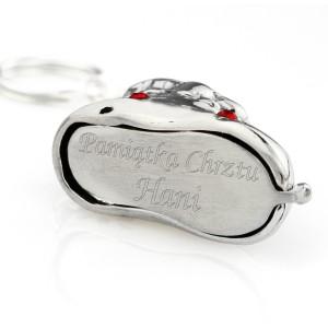 bucik srebrny z grawerem na Chrzest Święty