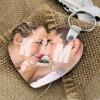 spersonalizowany brelok serce na prezent dla zakochanych