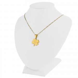 koniczynka złota pr. 585 z grawerem w eleganckim etui
