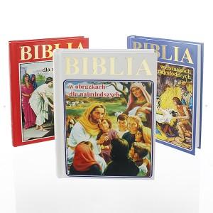 personalizowana biblia na komunię
