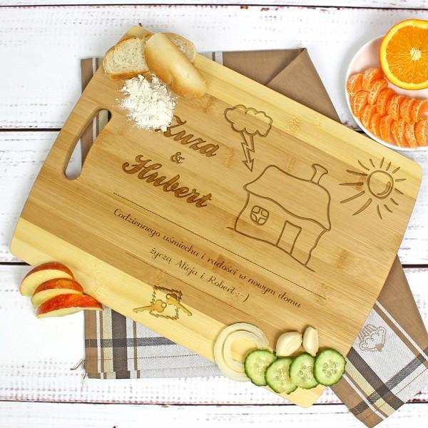 deska kuchenna na parapetówkę