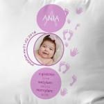poduszka ze zdjęciem na prezent dla dziecka