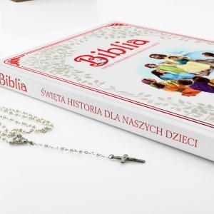 prezent na komunię dla dziewczynki biblia w opowiadaniach