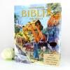 ilustrowana biblia z grawerem na komunię