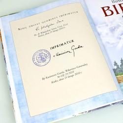 biblia na komunię dla chłopca