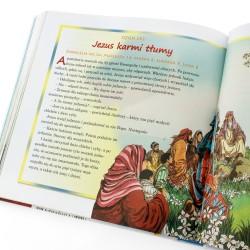 ilustrowana biblia dla dzieci na prezent na komunię