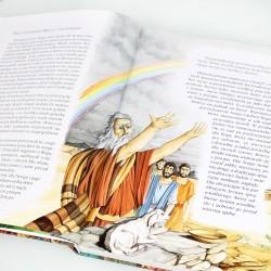 personalizowana biblia na komunijny prezent