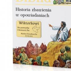 ilustrowana biblia dla dzieci z grawerem