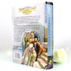 biblia z personalizacją na prezent komunijny