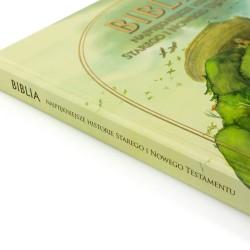biblia dla dzieci na komunię