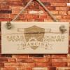 drewniana tabliczka z grawerem