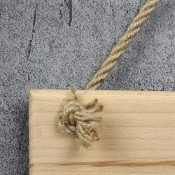 drewniana tabliczka na prezent