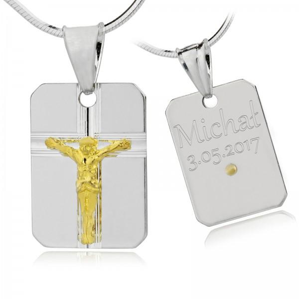 srebrna biżuteria na prezent komunijny