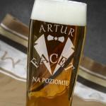 personalizowana szklanka dla niego