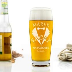 szklanka na piwo z grawerem