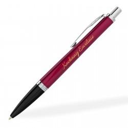 spersonalizowany różowy długopis na prezent komunijny