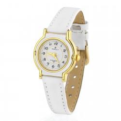 prezent na komunię biały zegarek z dedykacją