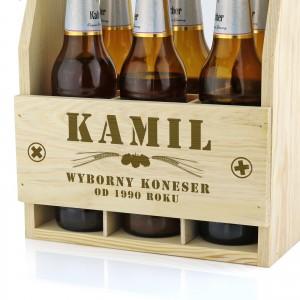 skrzynka drewniana na piwo