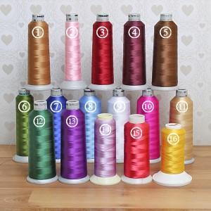 kolory nieci do haftowania